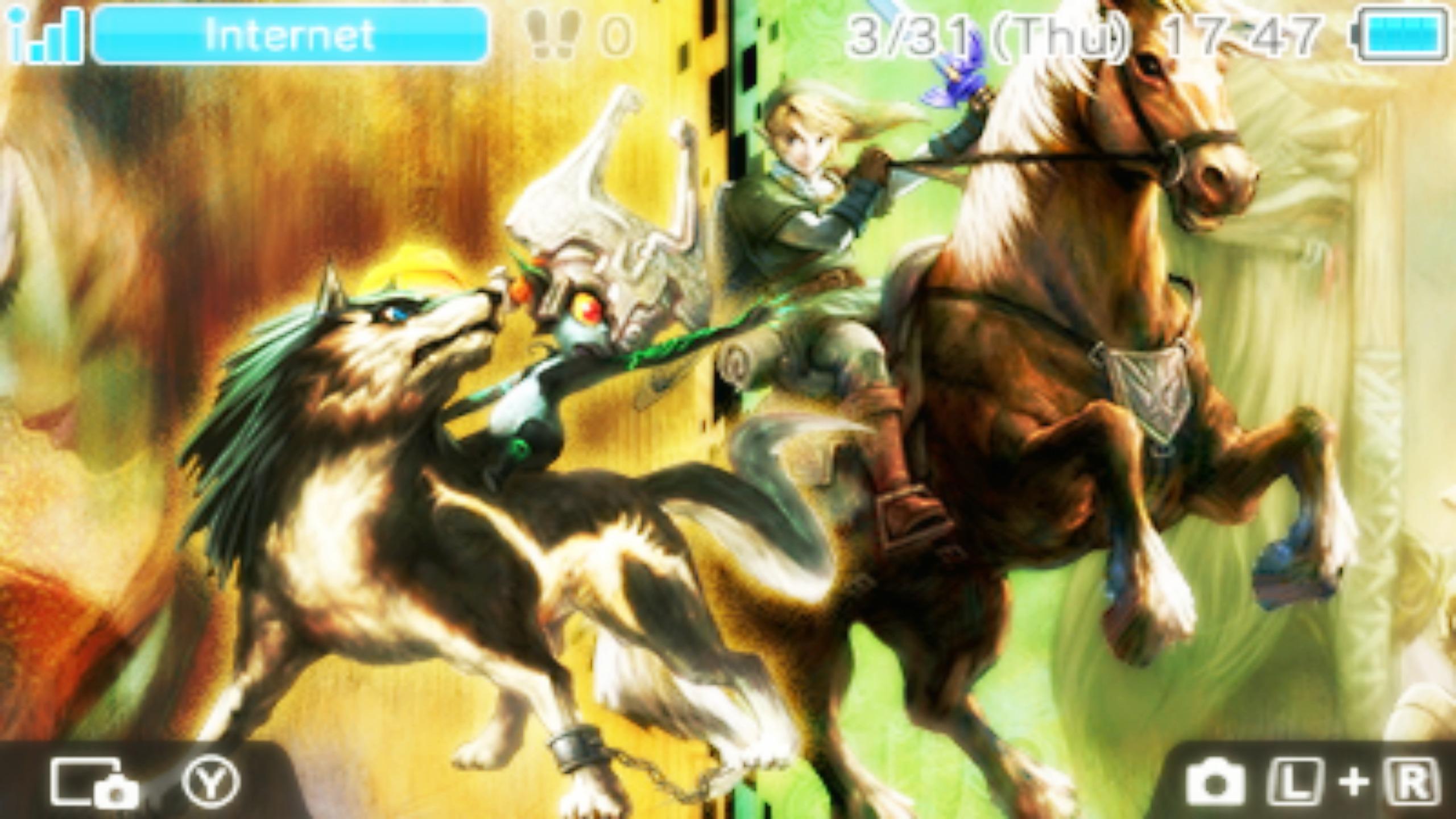 Twilight Princess Hd 3ds Wallpaper 1 By Obsessedgamergal86