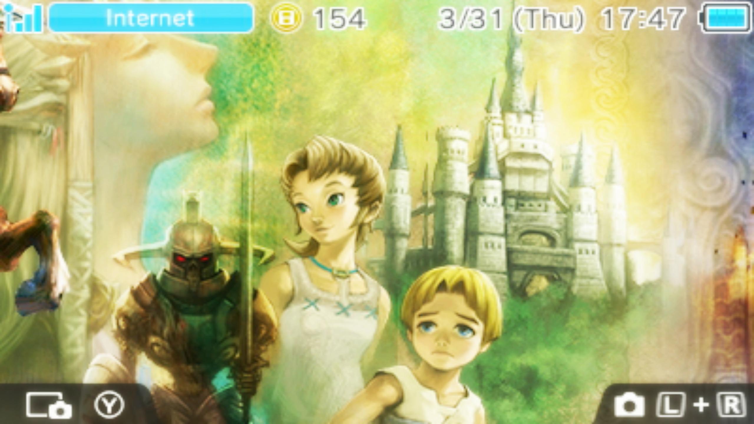 Twilight Princess Hd 3ds Wallpaper 2 By Obsessedgamergal86