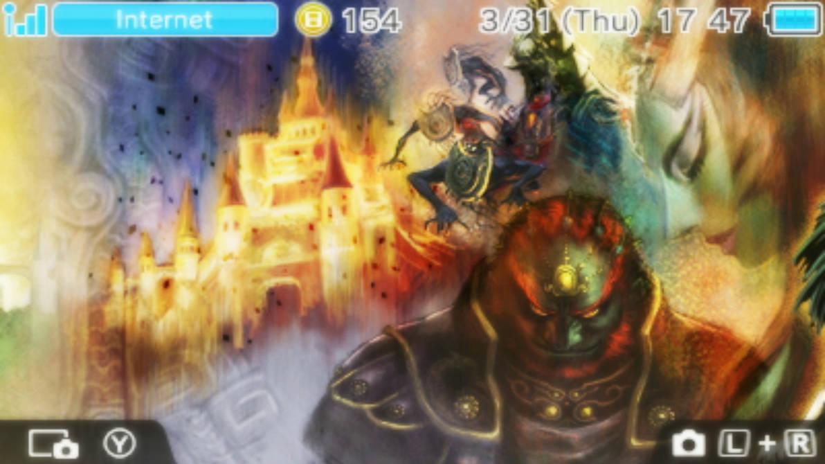 Twilight Princess Hd 3ds Wallpaper 3 By Obsessedgamergal86