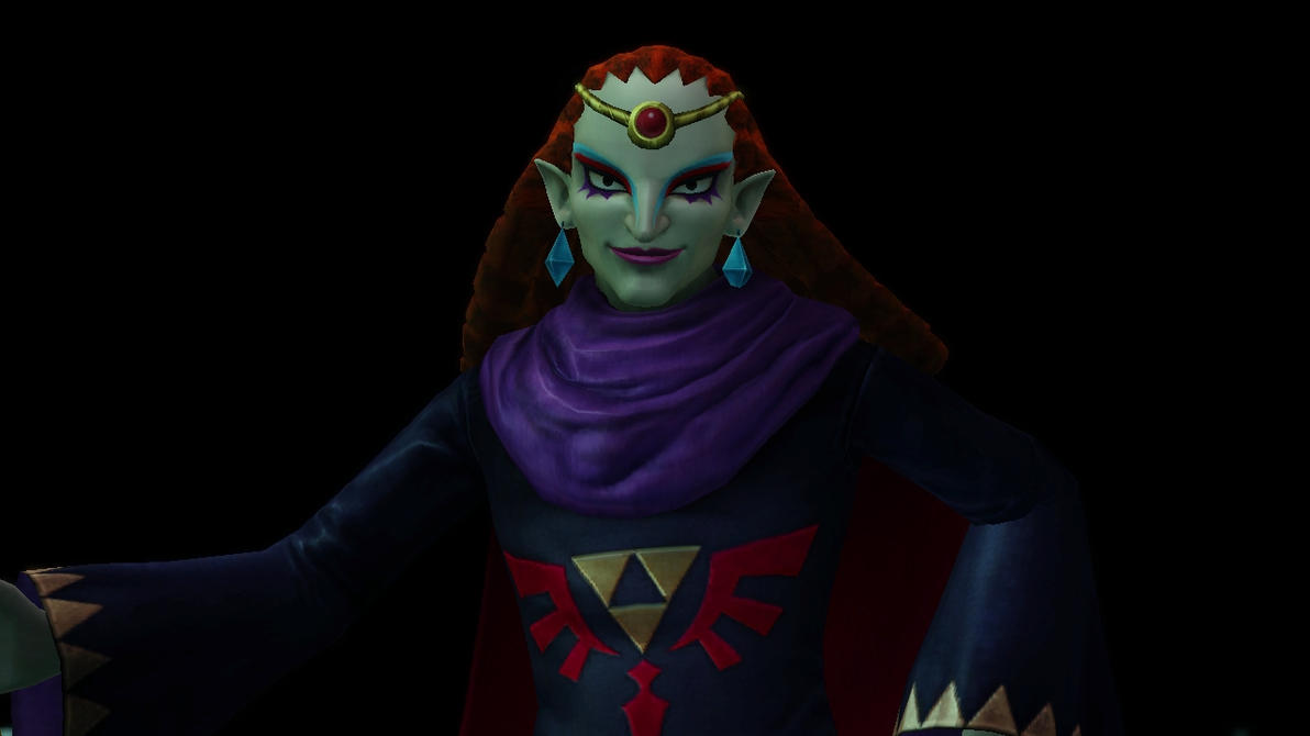 Hyrule Warriors - Yuga's Victory Pose! by ObsessedGamerGal86