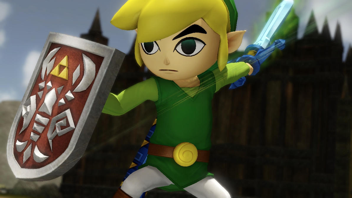 Hyrule Warriors - Toon Link's Victory Pose! by ObsessedGamerGal86