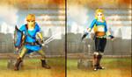 HW Definitive Edition - (BOTW Link and Zelda) by ObsessedGamerGal86