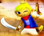 Hyrule Warriors DLC - Adventurous Corsair by ObsessedGamerGal86