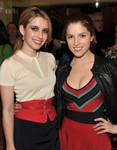 Emma Roberts and Anna Kendrick 2
