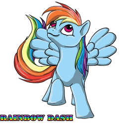 Rainbow Dash by Thyria