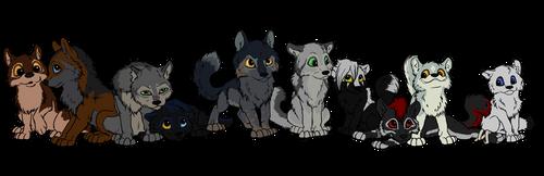 Wolfszeit Maingroup by Thyria