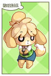 ACNL - Isabelle Card