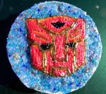 Autobot symbol mosaic