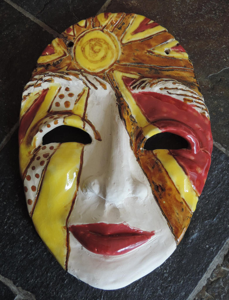 Unfinished Mask by illmatar