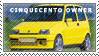 Cinquecento Owners Stamp by StanfordPhotography