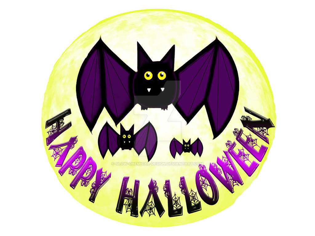 Halloween Bat by Slow-Chemical-Design
