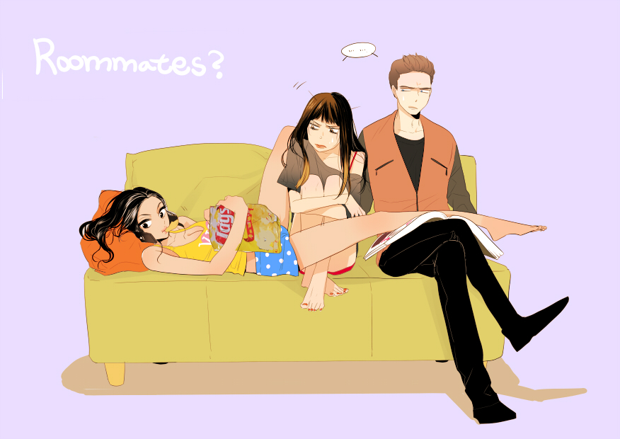 roommates? by qjxj