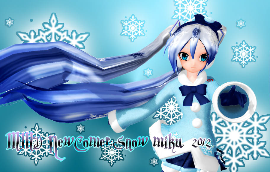 NewComer: Snow Miku 2012 DL by Akisuky-san