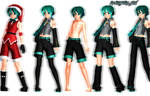 MMD NewComer:Mikuo DT Super Pack