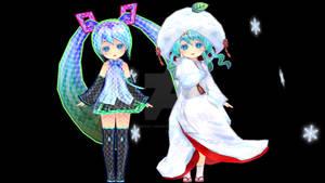 Ginjinshi Miku and Snow1013