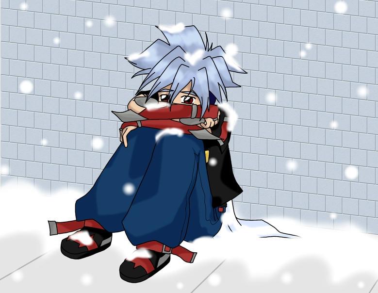 Awww... Kai's all alone... by BlueOkami
