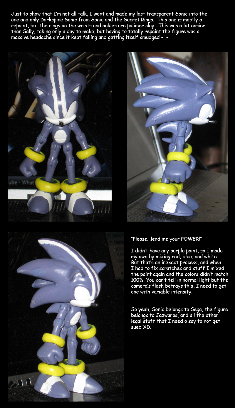 Darkspine Sonic custom by Wakeangel2001