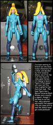 Zero Suit Samus custom by Wakeangel2001