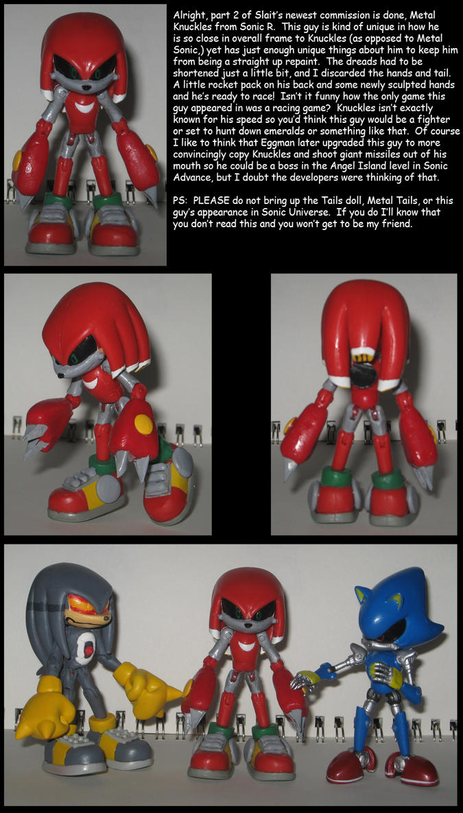 Custom Commission: Metal Knuckles R by Wakeangel2001