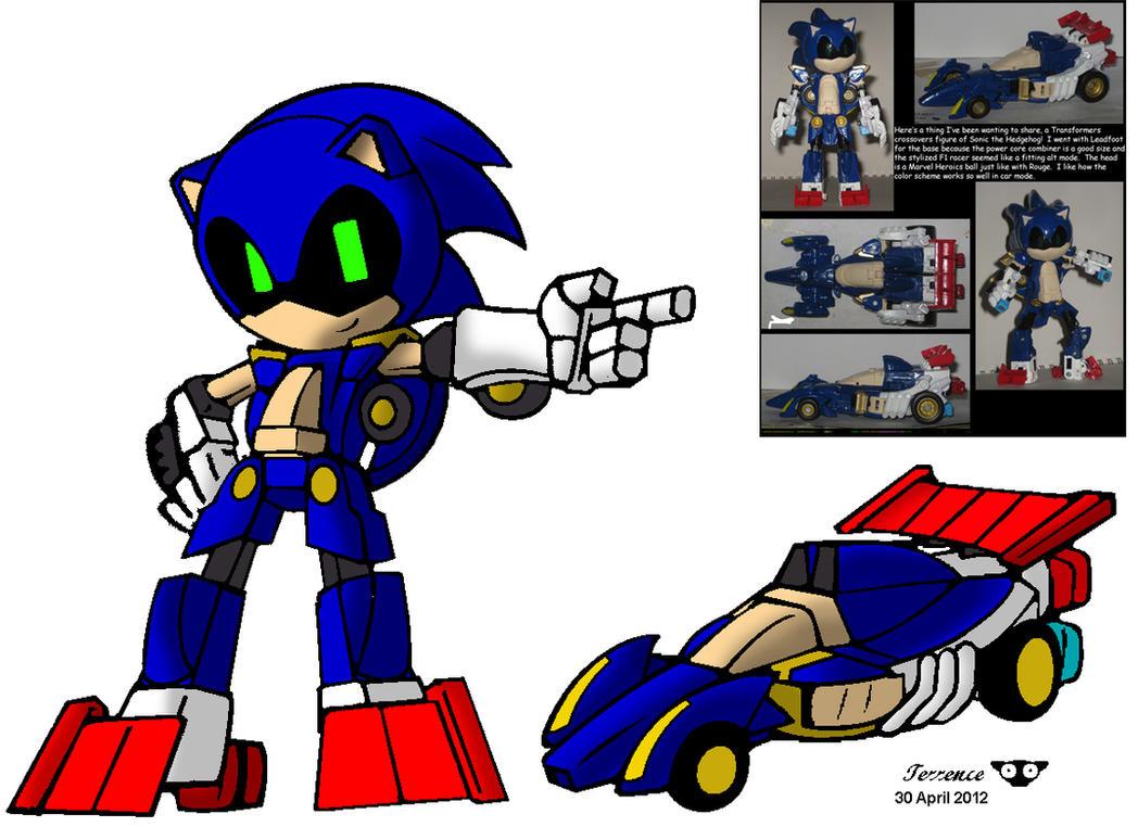 Sonicformer by Terrenslks by Wakeangel2001