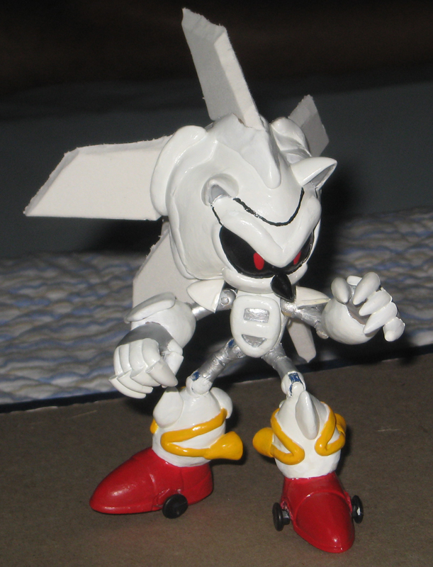 Silver Sonic Mk 3 rebuilt by Wakeangel2001