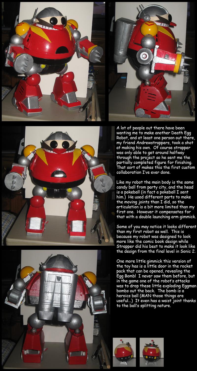 New Death Egg Robot By Wakeangel2001 On Deviantart