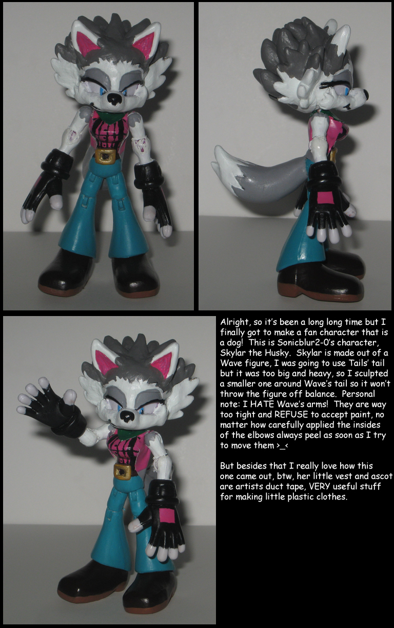 Custom Commission: Skylar the Husky by Wakeangel2001