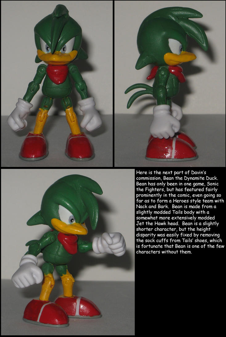 Custom Commission: Bean the Dynamite Duck by Wakeangel2001