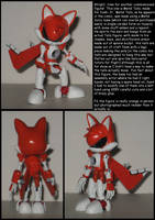 Custom Commission: Metal Tails by Wakeangel2001