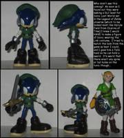 Wakeangel2K1 custom: Zelda DLC Sonic by Wakeangel2001