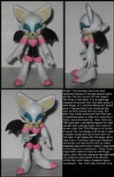 Rouge the Bat custom by Wakeangel2001