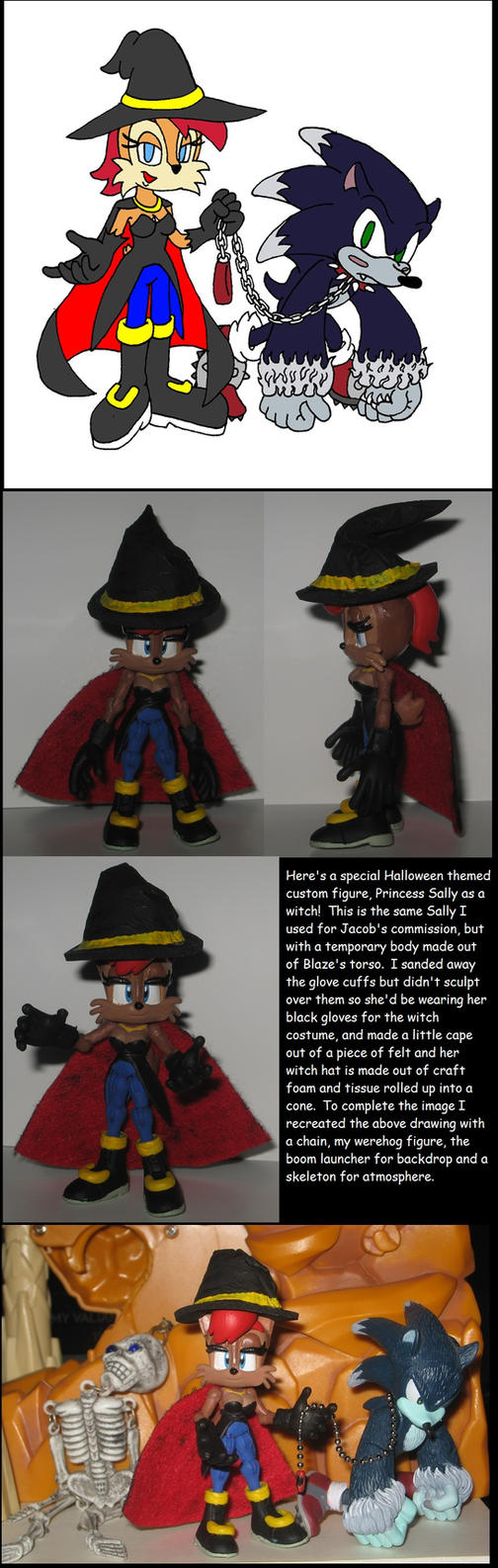 Wakeangel2K1 Halloween: Sally Witch by Wakeangel2001