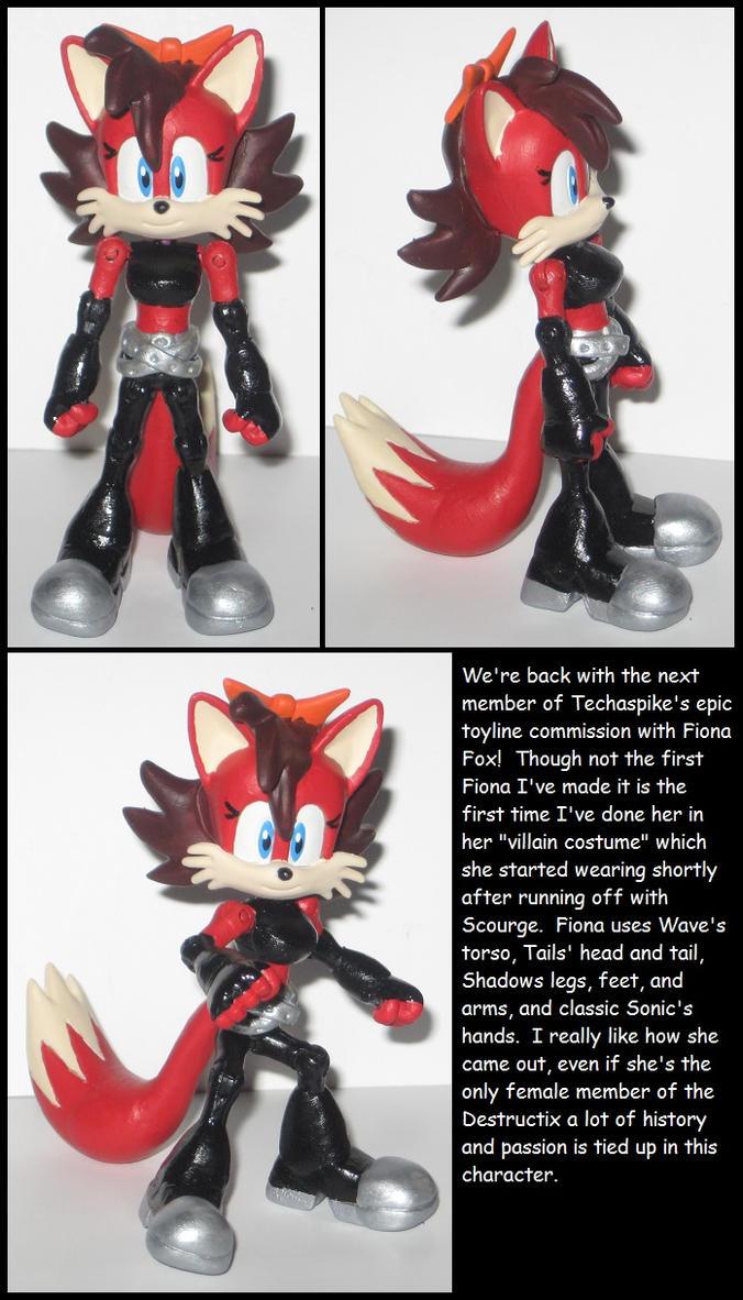Custom Commission: Bad girl Fiona by Wakeangel2001
