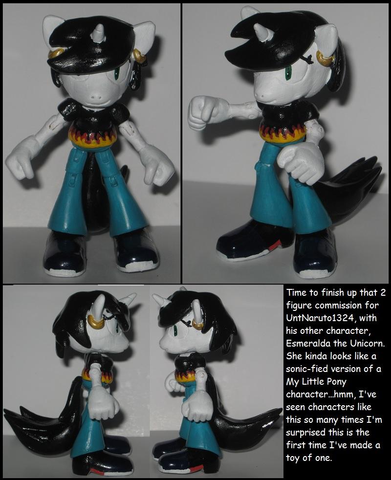 Custom Commission: Esmeralda the Unicorn by Wakeangel2001