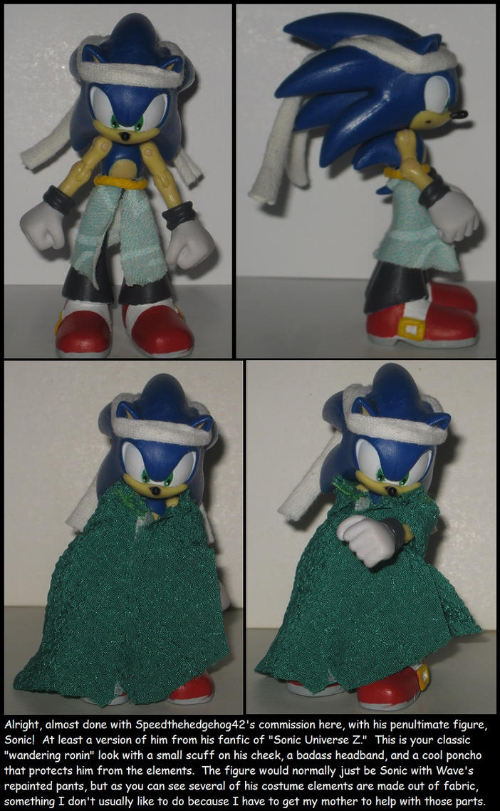Custom Commission: Sonic Universe Z by Wakeangel2001