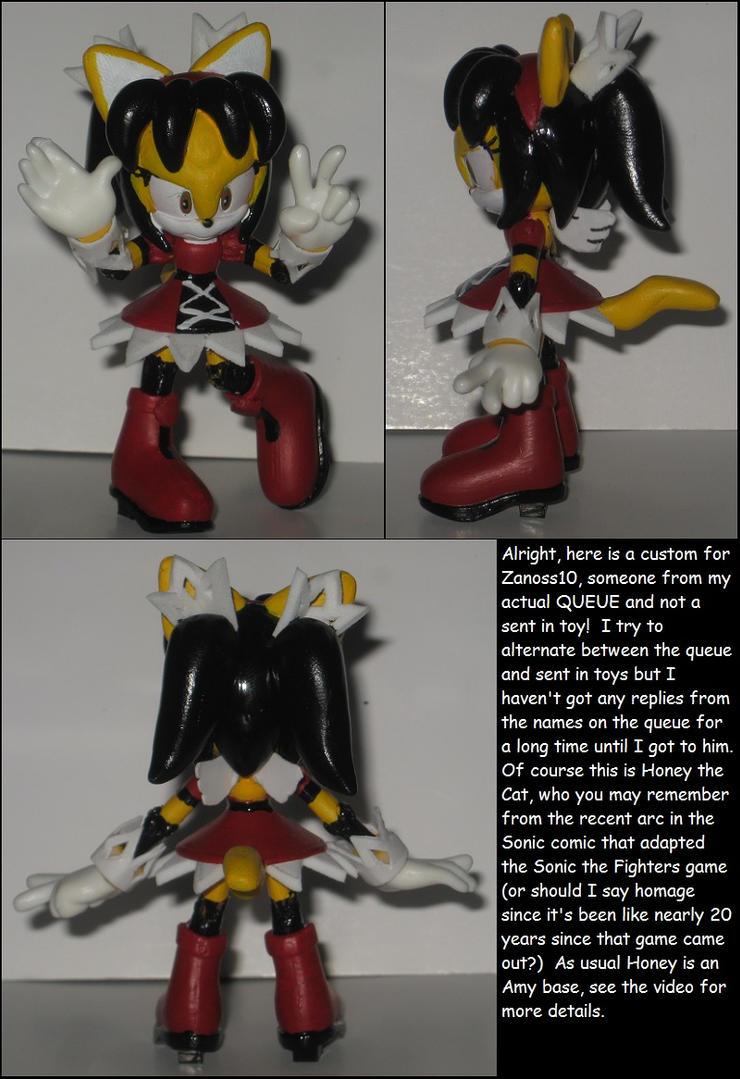 Custom Commission: Honey the Cat by Wakeangel2001