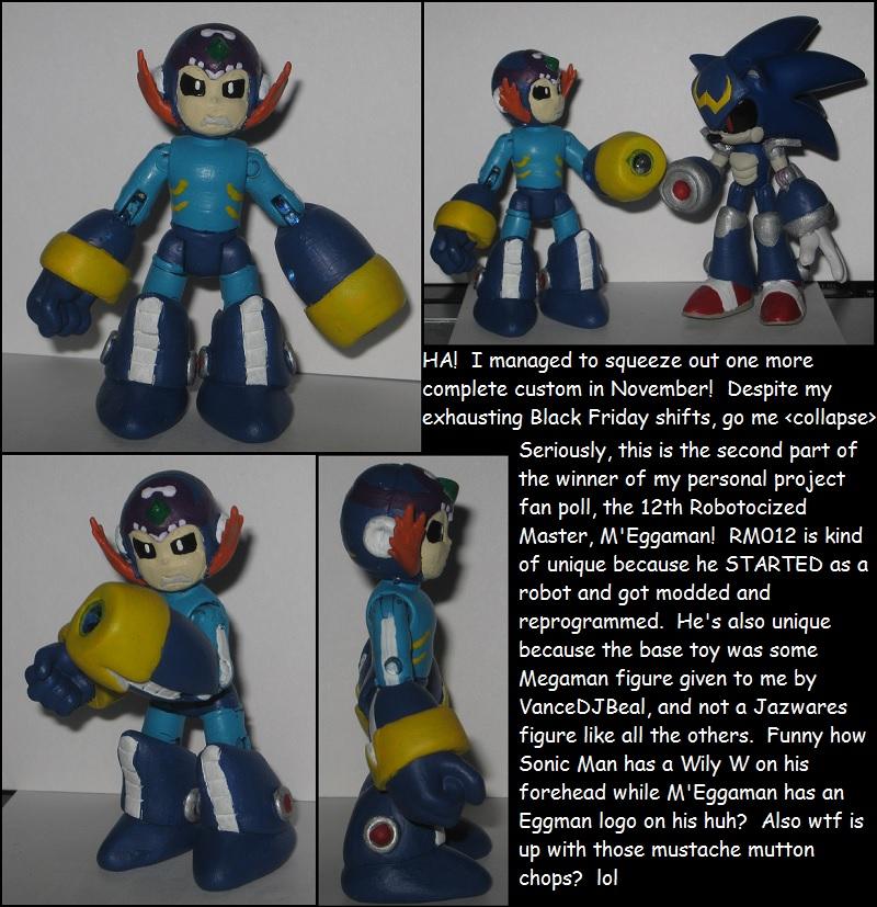 Wakeangel2K1 custom: M'Eggaman by Wakeangel2001