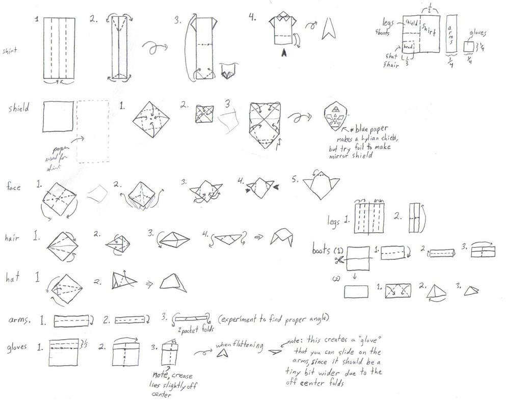 Origami Hat Square Paper