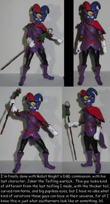 Joker the Teifling Warlock for Robot Knight