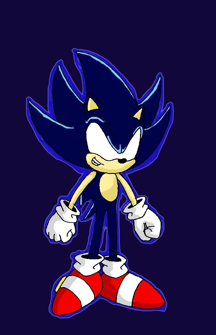 Dark Super Sonic By Wakeangel2001 On Deviantart