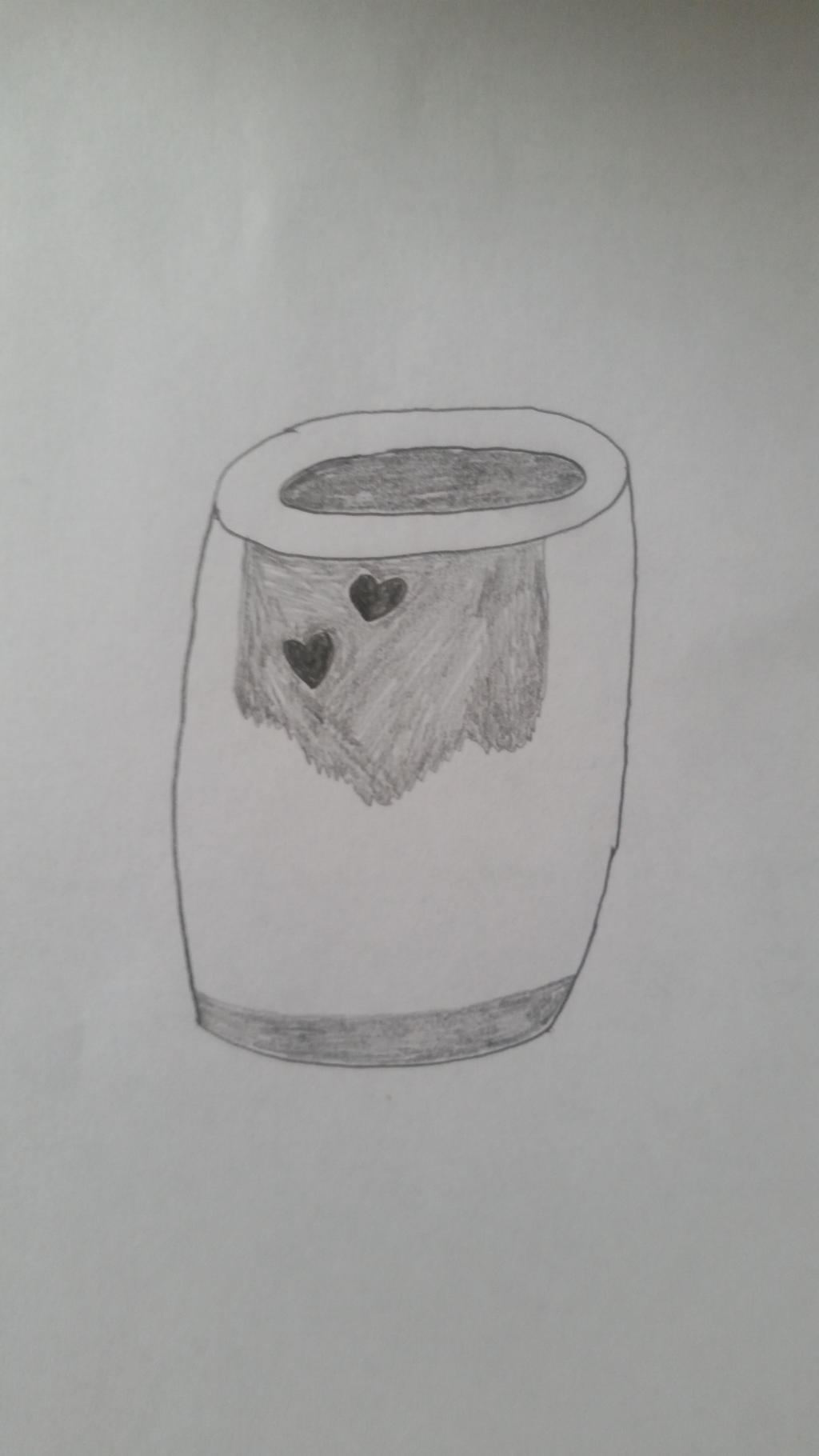 Drawing of design112's Flower Vase by PIZZAPIE97