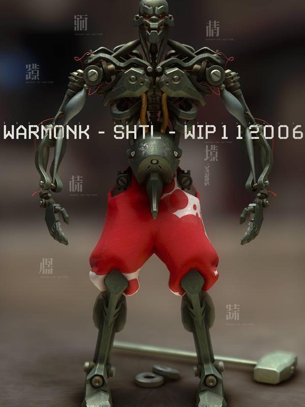 Warmonk by shtl