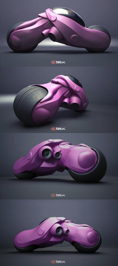 M6Mobile bike design prototype by shtl