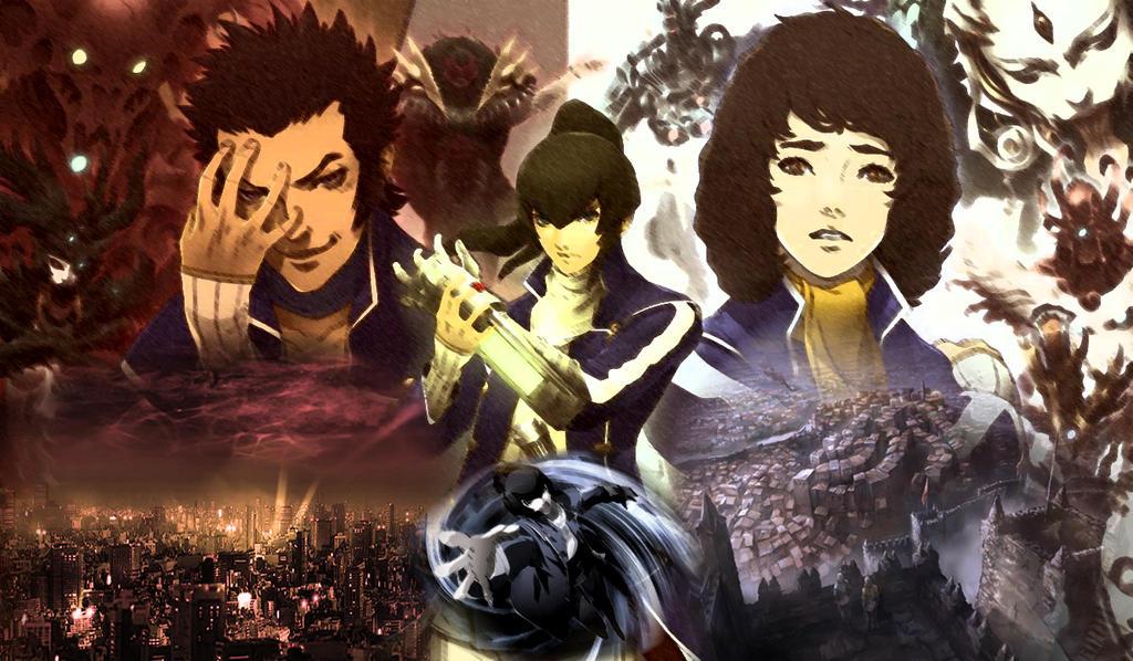shin megami tensei iv wallpaper  Shin Megami Tensei IV by DaSenpai on DeviantArt