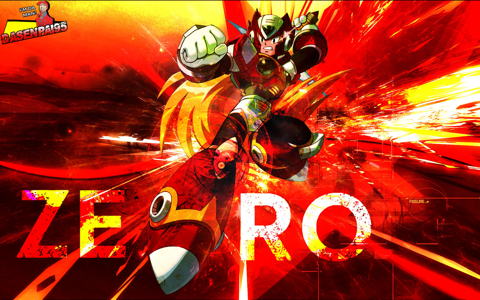 Mega Man X Zero Gfx Wallpaper By Dasenpai On Deviantart