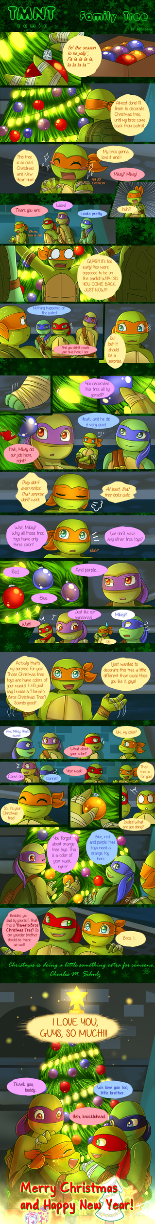 Teenage mutant ninja turtles favourites by ladycelestialstar on tmnt comic family tree by aquagd sciox Image collections