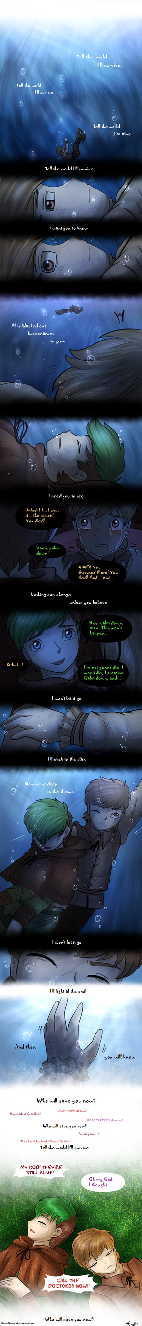 .: US comic - Who will save you now?:. by AquaGD