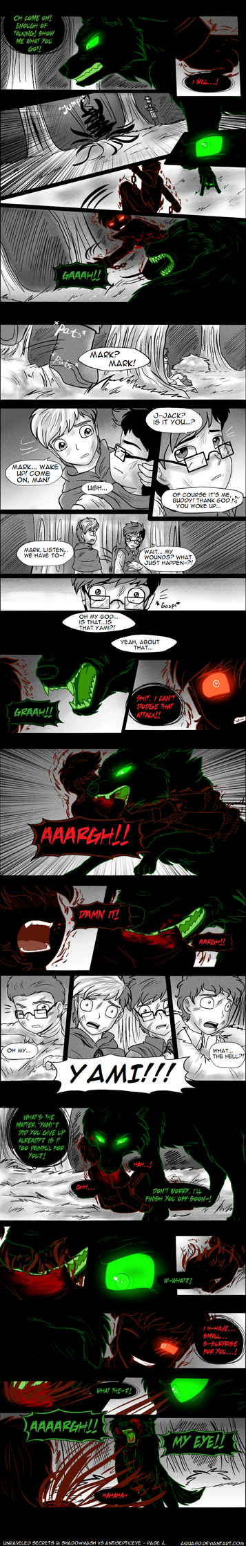 .: US 2: Shadowmash vs Antisepticeye - page 2 :. by AquaGD