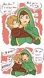 .: LoY: I'm taller than you now! - comic :.