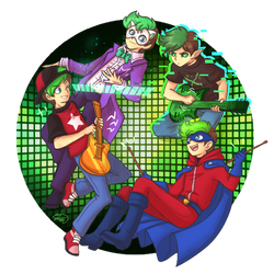 .: The Septic Egos - Music Band! :. by AquaGD